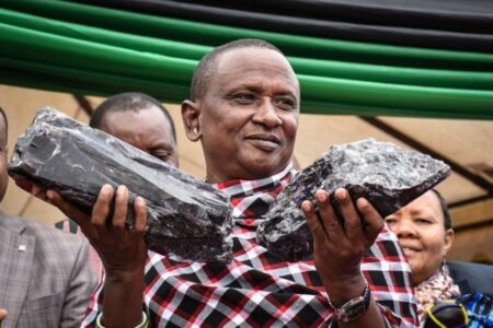 عامل فقير في تنزانيا يحقق ثروة 3.3 مليون دولار والسبب حجر تنزانيت Tanzanite 1