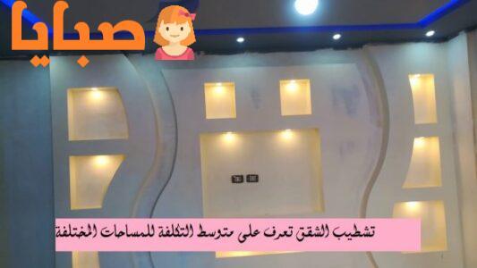 تكلفة تشطيب شقة 150 متر على الطوب الاحمر from 9baya.net