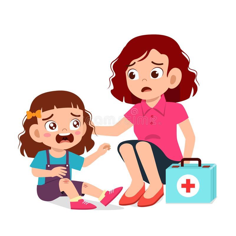 الاسعافات الاولية للاطفال في حالة الجروح والكدمات