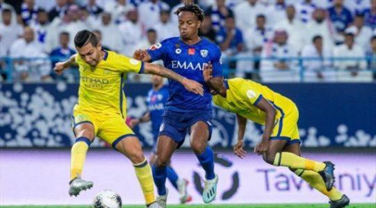 موعد مباراة الهلال والنصر في الجولة الخامسة من الدوري السعودي  23-11-2020