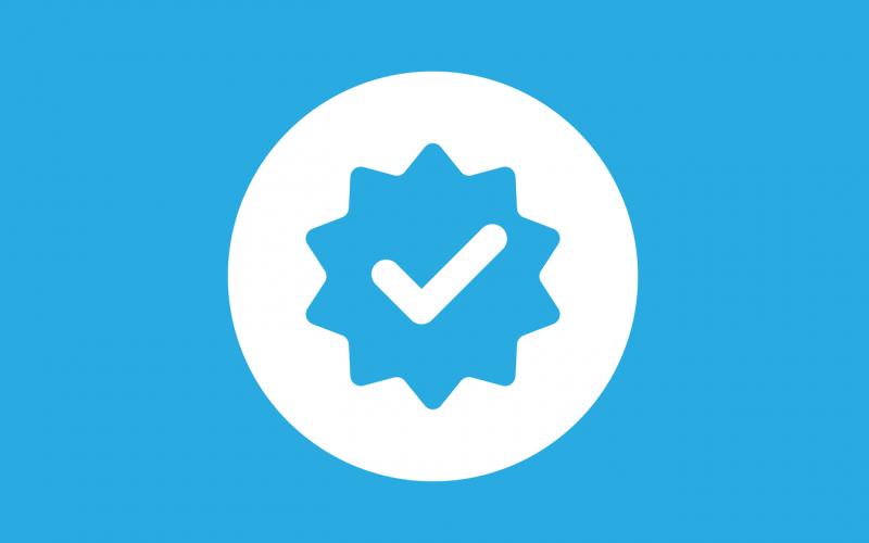 طريقة توثيق حساب تويتر بالعلامة الزرقاء