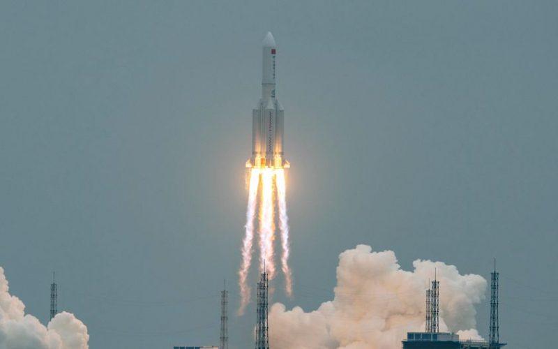 الصاروخ الصيني اين يسقط وهل يمكن اعتراضه من قبل القوات الأمريكية في الفضاء
