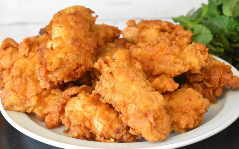 طريقة عمل دجاج كنتاكي بالوصفة السرية