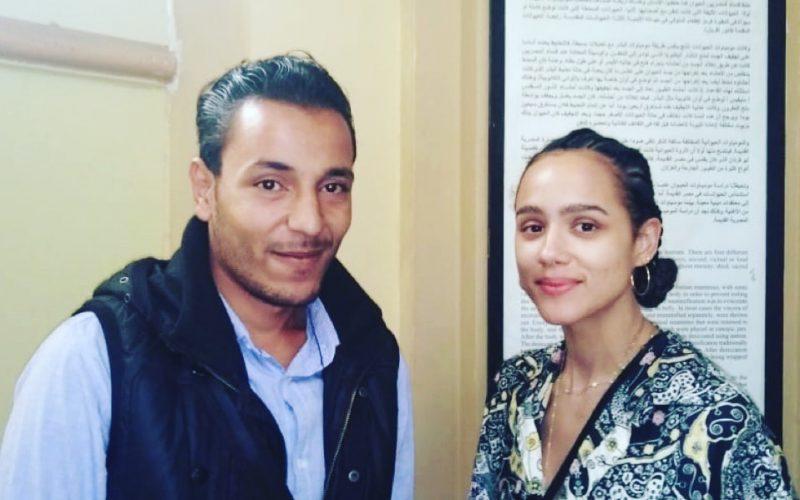 حديث صحفي مع محمد على حسان عن مقابلته مع ناتالي ايمانويل بطلة Game Of Thrones